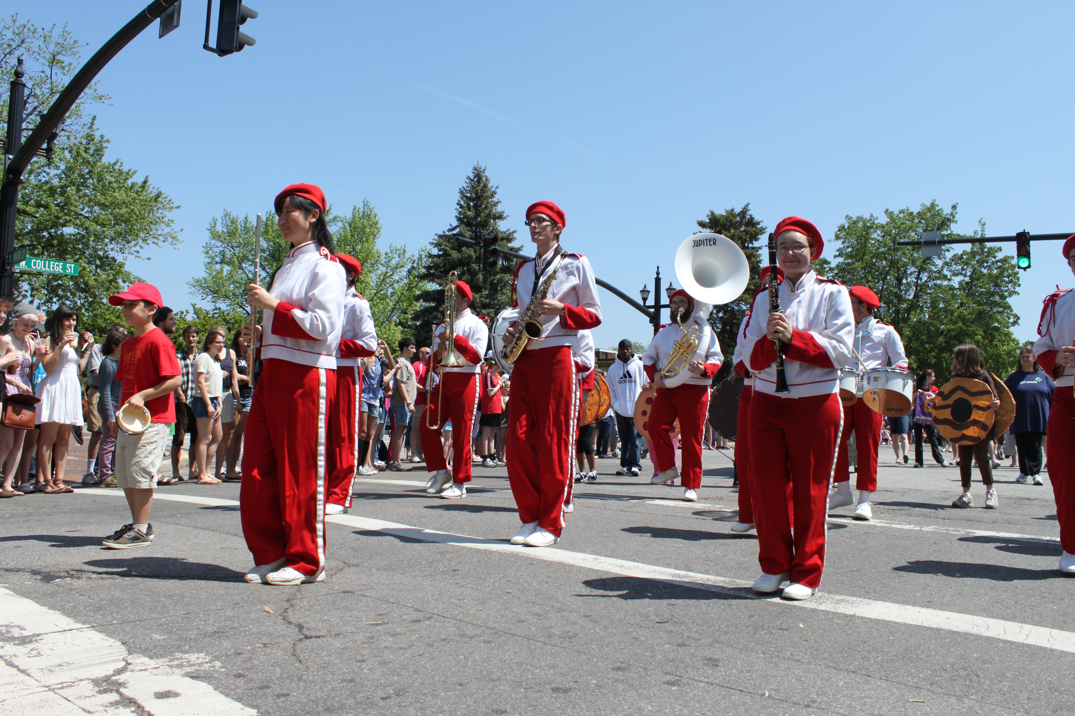 OHS Marching Band at Big Parade