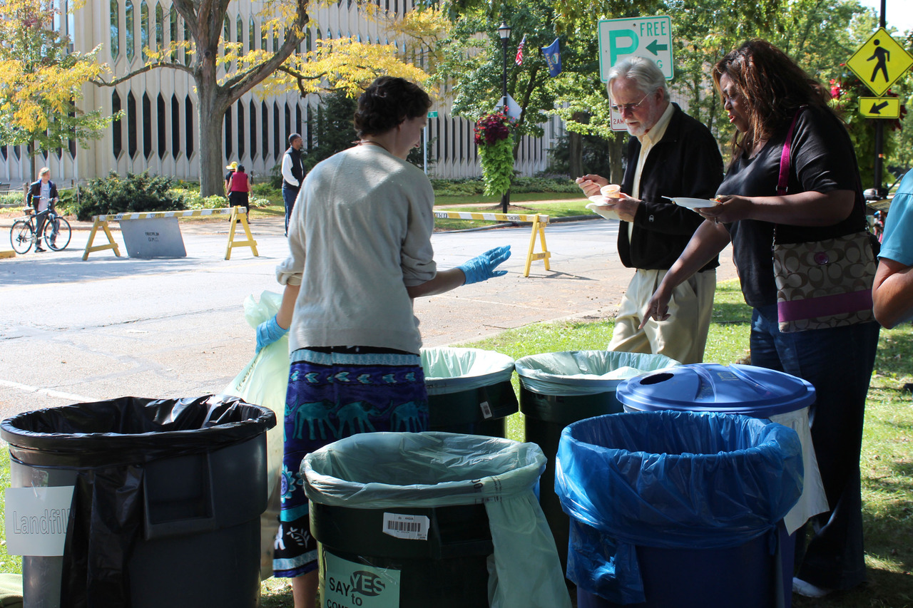 Tappan Square recycling